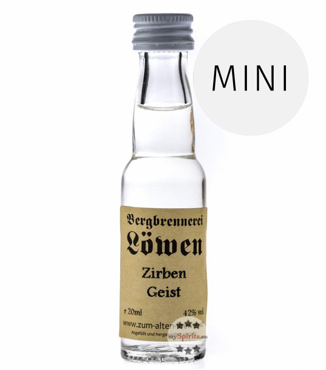 Löwen: Zirben-Geist / 42% Vol. / 0,02 Liter - Flaschen
