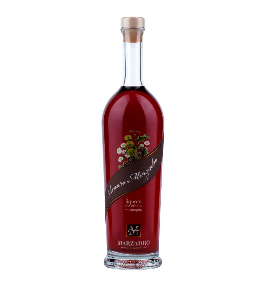 Marzadro: Amaro Marzadro Kräuter-Likör / 30 % Vol. / 0,7 Liter-Flasche