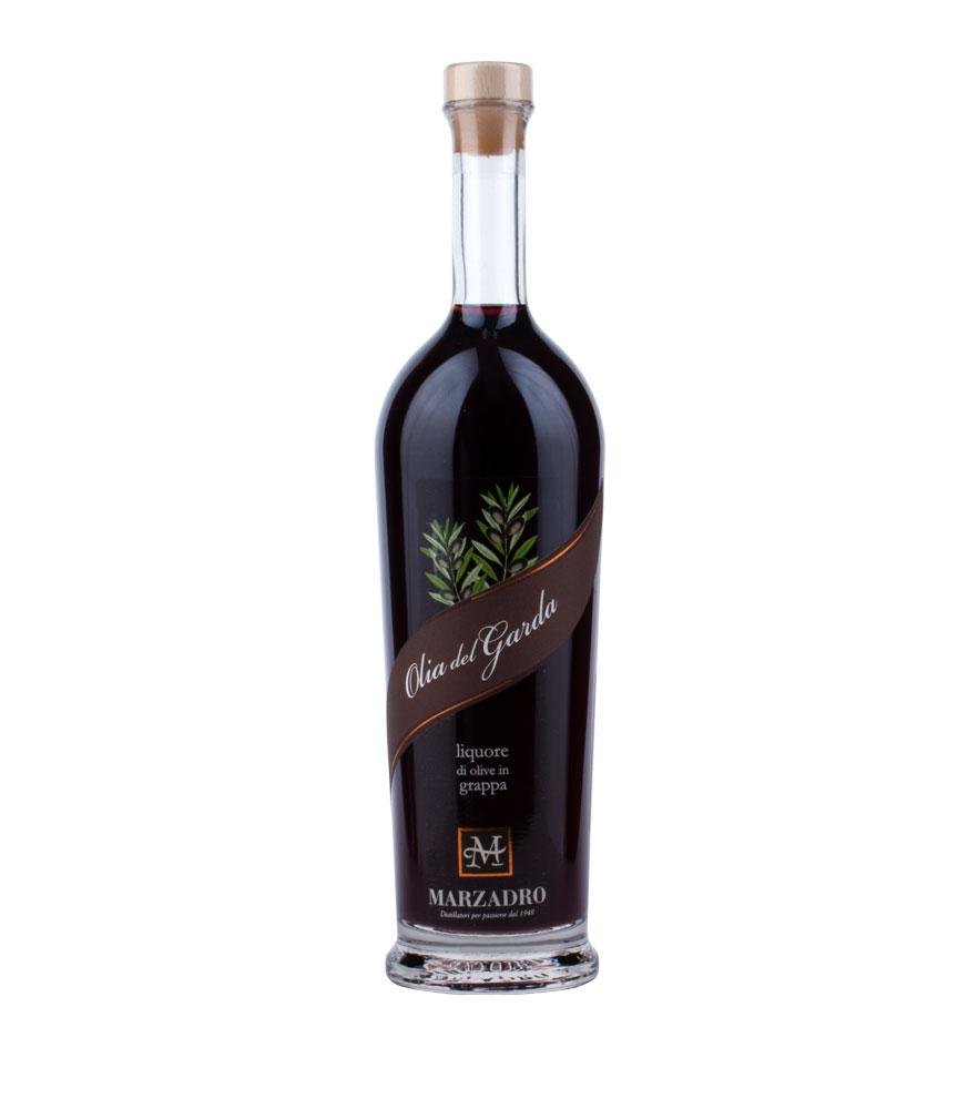 Marzadro: Olia del Garda Oliven-Likör / 40 % Vol. / 0,7 Liter-Flasche