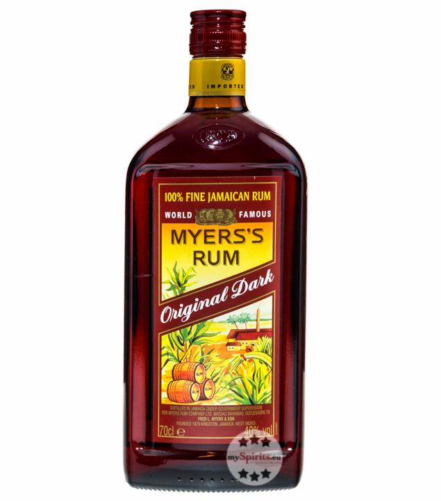 Myers's Rum Original Dark Fine Jamaican Rum / 40 % Vol. / 0,7 Liter-Flasche