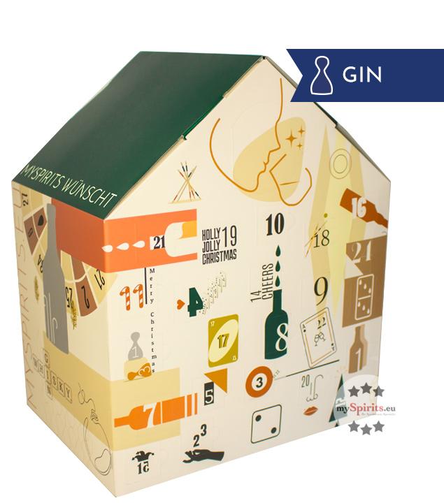 Gin Adventskalender Premium Edition - 24 x 2 cl