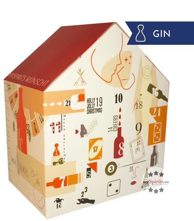 Gin Adventskalender Special Edition - 24 x 2 cl + Glas