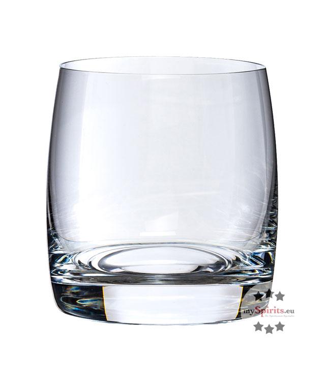 Gin und Whisky Tumbler Glas - hochwertiges Becherglas für Drinks auf Eis / B x H 7 x 8,5 cm / 290 ml