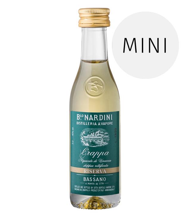 Nardini: Grappa Riserva 40° / 40% Vol. / 0,03 Liter-Flasche
