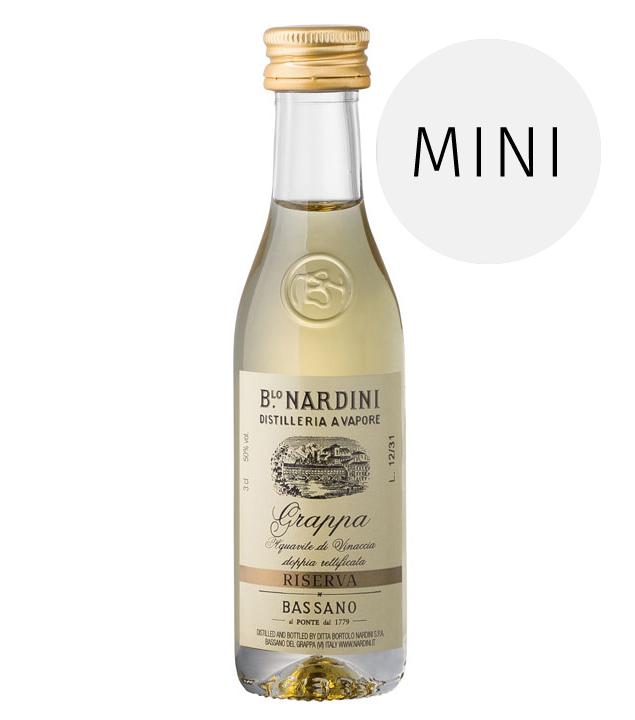 Nardini: Grappa Riserva 50° / 50% Vol. / 0,03 Liter-Flasche