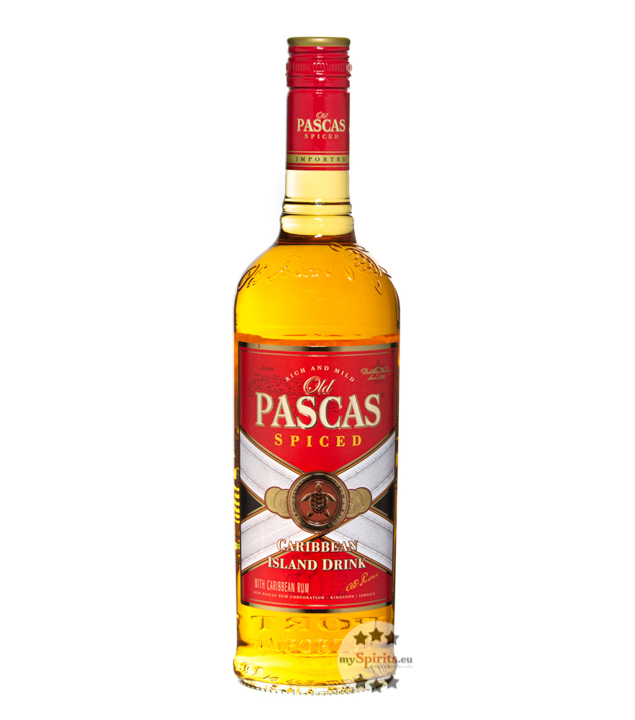 Spiced (Rum-Basis) Caribbean Island Drink / 35 % Vol. / 0,7 Liter-Flasche