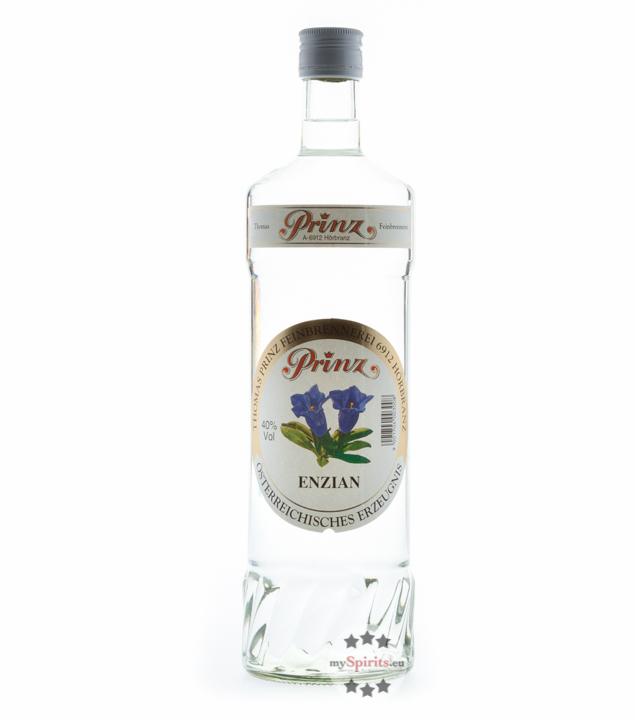 Prinz Enzian-Schnaps / 40 % vol. / 1,0 Liter-Fl...