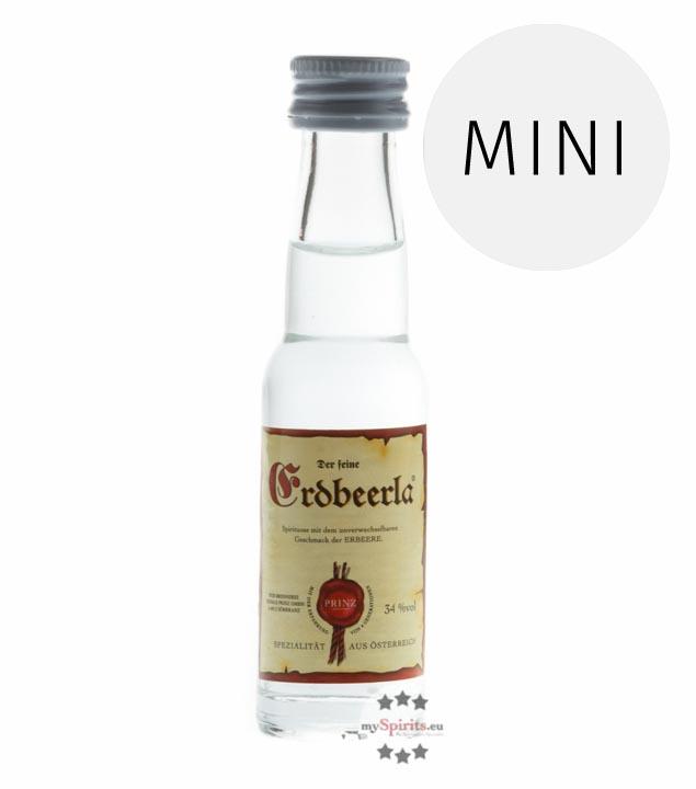 Prinz: Erdbeerla / 34% Vol. / 0,02 Liter - Flasche