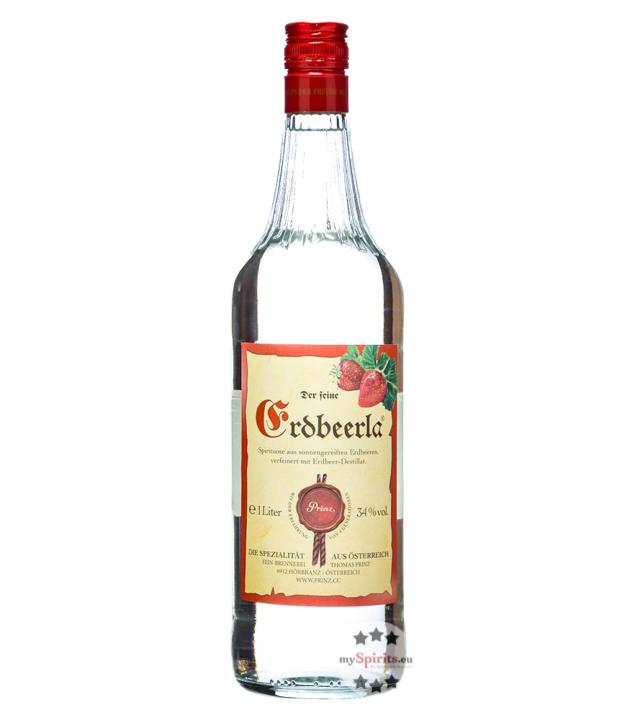 Prinz: Erdbeerla / 34% Vol. / 1,0 Liter - Flasche