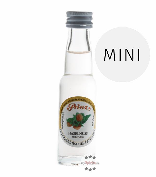 Prinz: Haselnuss-Schnaps / 40% Vol. / 0,02 Liter - Flasche
