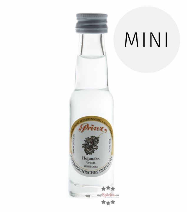 Prinz: Holunder-Geist / 40% Vol. / 0,02 Liter - Flasche