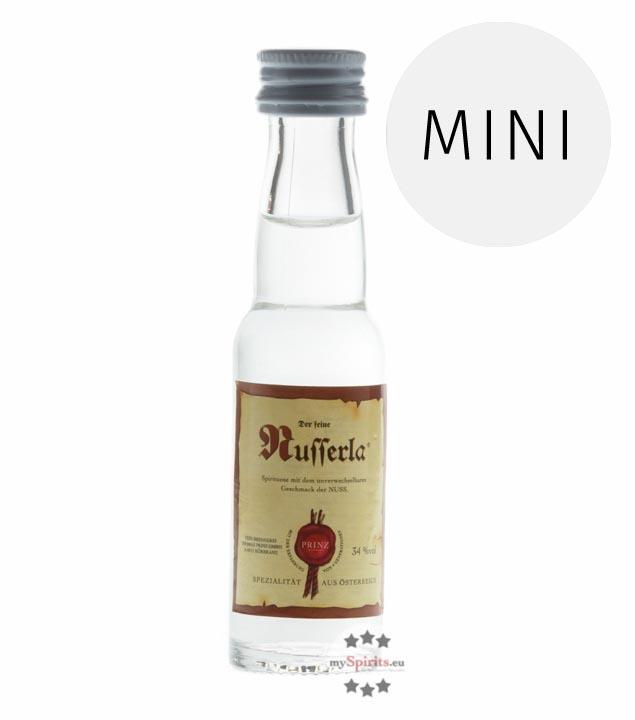 Prinz: Nusserla / 34% Vol. / 0,02 Liter - Flasche