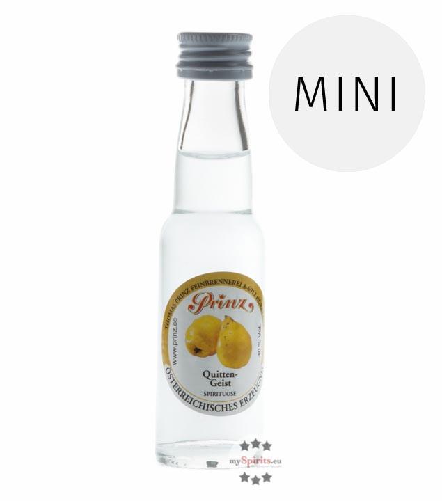 Prinz: Quitten-Geist / 40% Vol. / 0,02 Liter - Flasche
