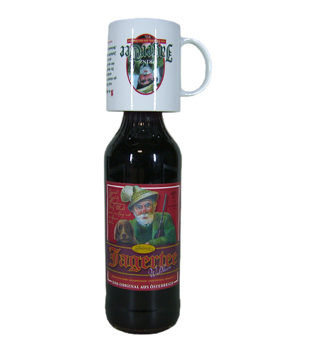 Prinz: Jagertee Waldbeer / 40% Vol. / 1,0 Liter - Flasche