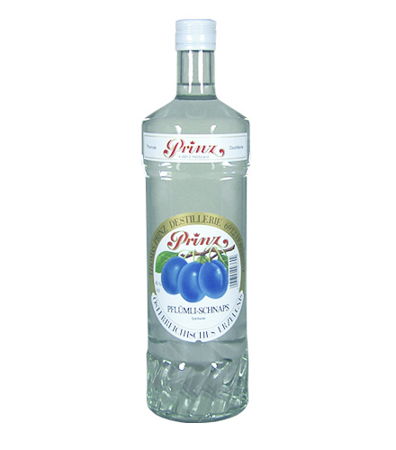 Prinz: Pflümli-Schnaps / 40% Vol. / 1,0 Liter -...