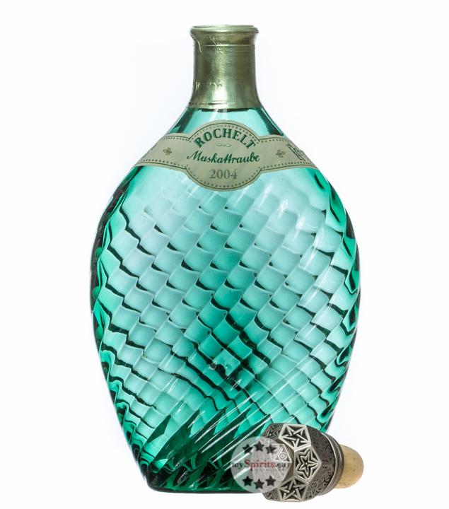 Rochelt Muskattraube - Traubenbrand / 50 % Vol. / 0,35 Liter-Flasche in Holzkiste