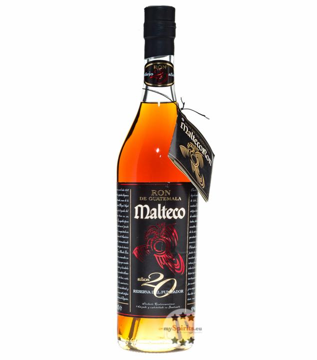 Ron de Guatemala Malteco Rum 20 Años / 41 % Vol. / 0,7 Liter-Flasche