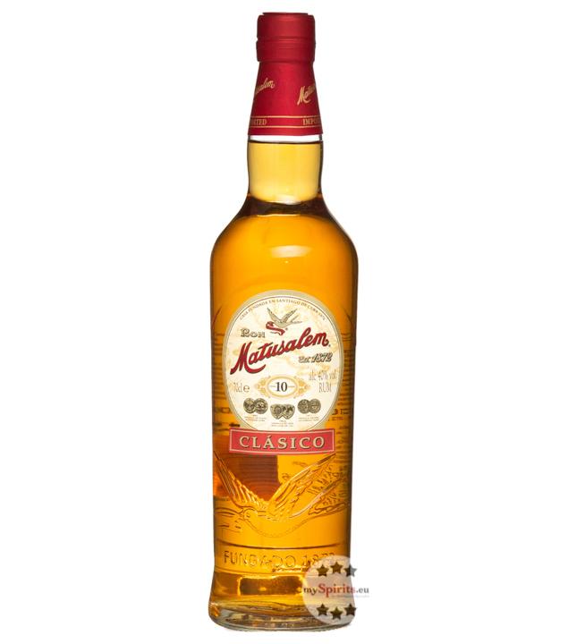 Ron Clásico Solera Rum 10 Jahre / 40 % Vol. / 0,7 Liter-Flasche