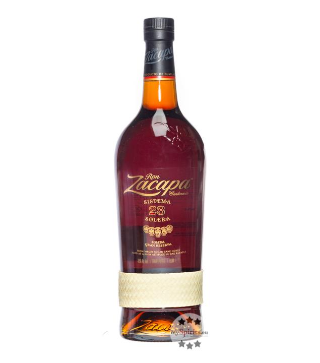 Ron Zacapa 23 Rum Solera Gran Reserva / 40 % Vol. / 1,0 Liter-Flasche in Geschenkpackung