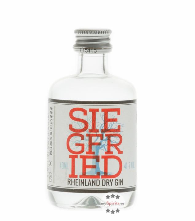 Siegfried Rheinland Dry Gin / 41% Vol. / 0,04 L...
