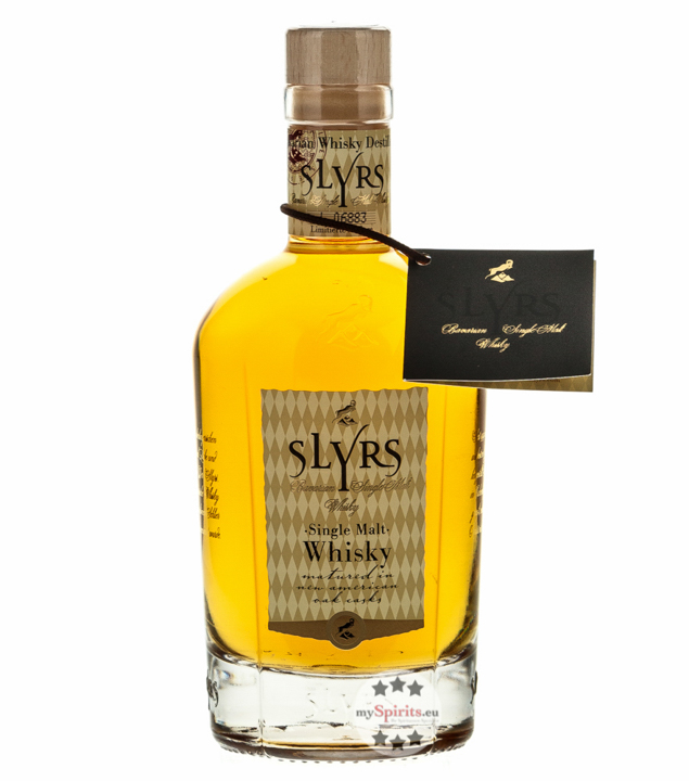 Slyrs Whisky: Bavarian Single Malt / 43 % vol. ...