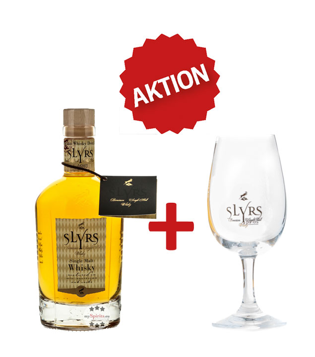SLYRS Whisky Set: Bavarian Single Malt Whisky +...
