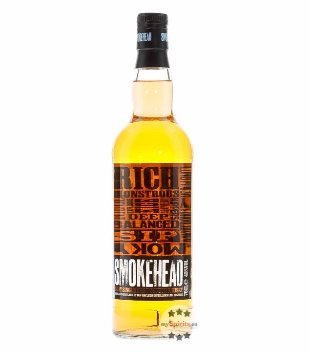 Smokehead Islay Single Malt Scotch Whisky / 43 ...