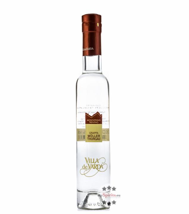 Villa de Varda Grappa Müller Thurgau Pensiero Trentino / 40 % Vol. / 0,2 Liter-Flasche