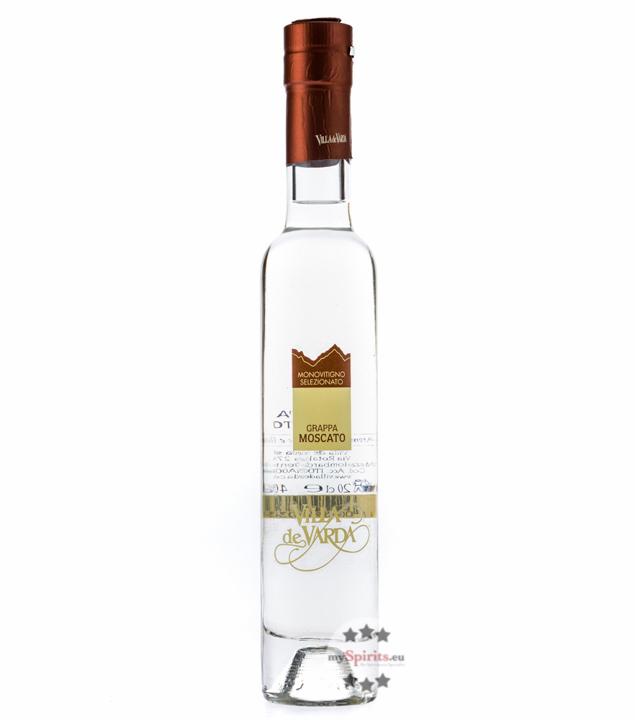 Villa de Varda Grappa Moscato Pensiero Trentino - Klarer Grappa / 40 % Vol. / 0,2 L Flasche