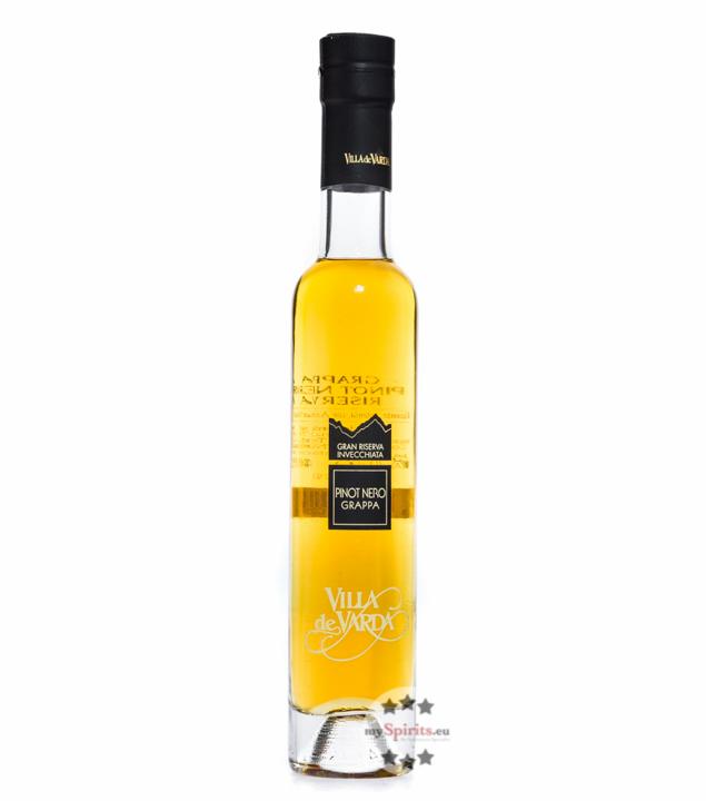 Villa de Varda Grappa Pinot Nero Riserva Pensiero Trentino / 40 % Vol. / 0,2 Liter-Flasche
