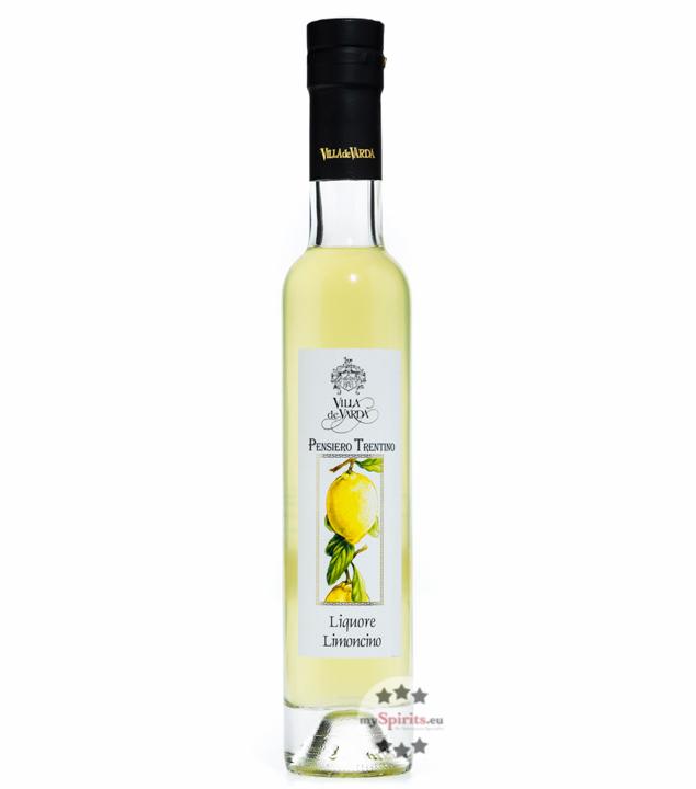 Villa de Varda Liquore Limoncino Pensiero Trentino - Zitronenlikör / 28% Vol. / 0,2 Liter-Flasche