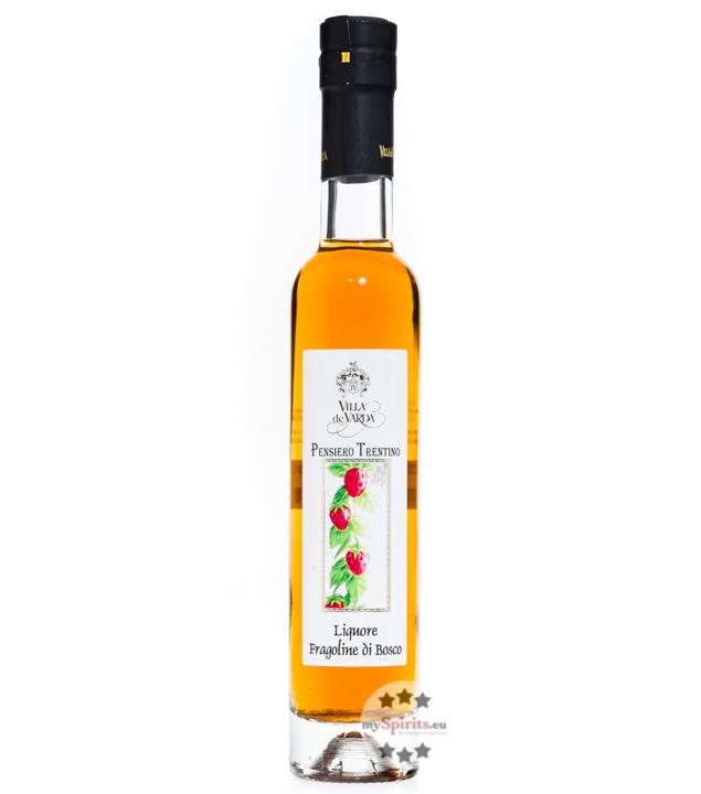 Villa de Varda Liquore Fragoline di Bosco Pensiero Trentino - Erdbeerlikör / 28% Vol. / 0,2L Flasche