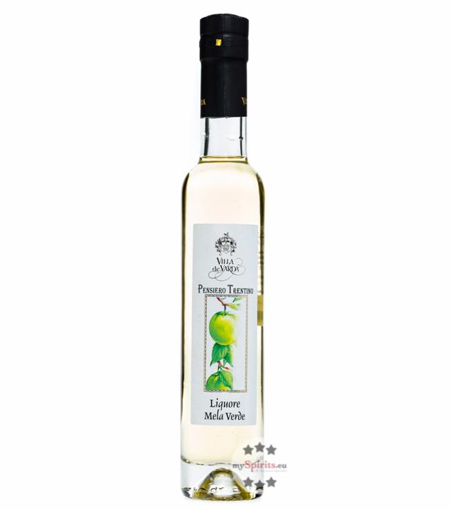 Villa de Varda Liquore Mela Verde Pensiero Trentino - Likör mit Apfel / 28% Vol. / 0,2 L Flasche