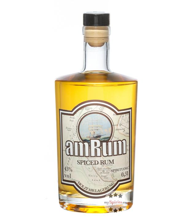 Ziegler: amRum Spirituose auf Rum-Basis / 43 % Vol. / 0,5 Liter-Flasche