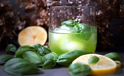 Gin Basil Smash – alles im grünen Bereich