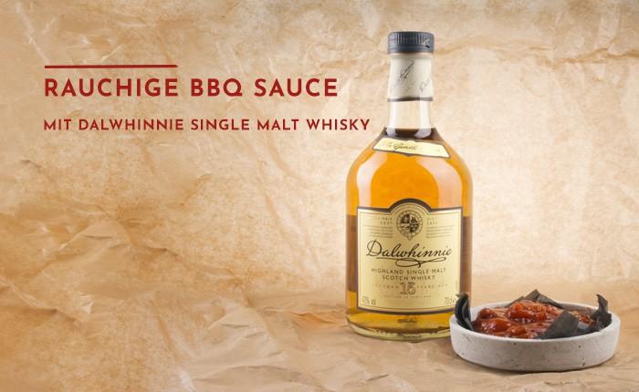 Rezept für rauchige BBQ-Sauce mit Dalwhinnie Single Malt Whisky