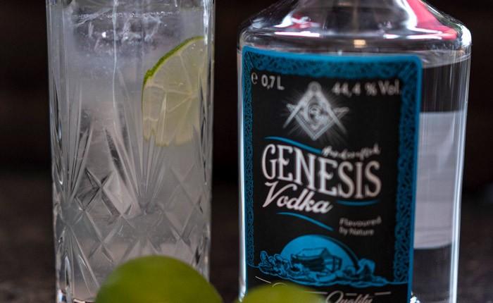 Neu: Genesis Vodka – jetzt pur probieren und Cocktails mixen!