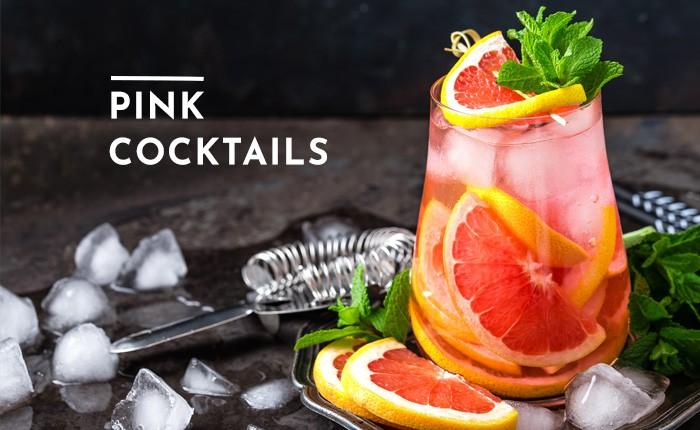 Pinker Cocktail gefällig? Bei diesen 5 Rezepten ist der perfekte dabei!