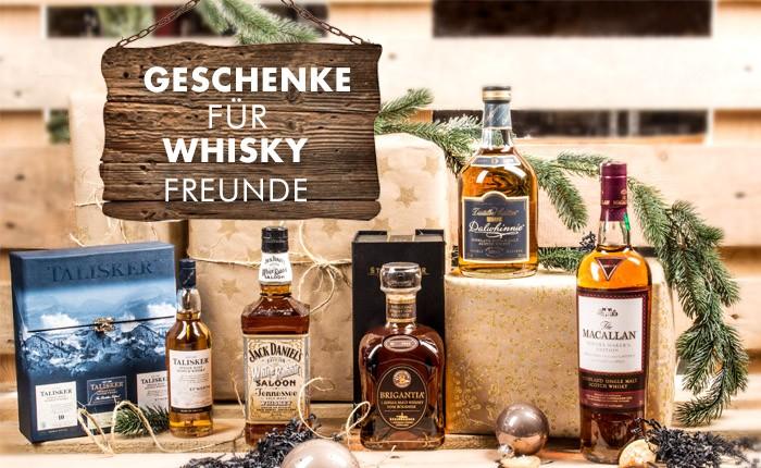 5 perfekte Geschenke für Whisky-Freunde