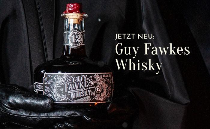 Neuer Whisky: Guy Fawkes beweist Geschmack