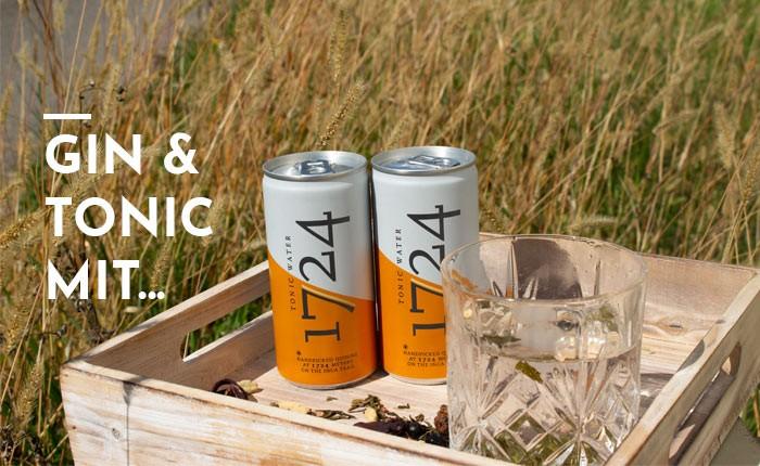 Gin Tonic mit 1724 Tonic Water – Gin Empfehlungen