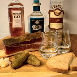 Wodka-trinken: Russische Regeln oder Experten-Tasting?