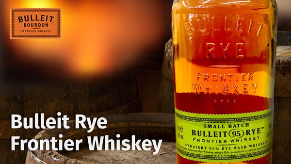 Der Bulleit Rye Frontier Whiskey bringt genug Roggen-Power mit, um jeden Cocktail zu stemmen