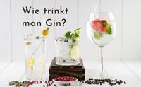 Wie trinkt man Gin richtig?