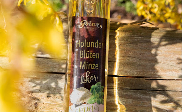 Prinz Holunderblüten-Minze-Likör 0,5 Liter