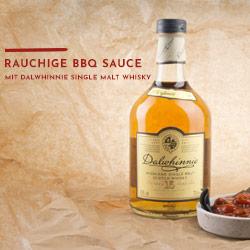 Whisky-Grillsauce mit Dalwhinnie und Malzbier