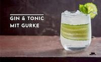 Gin Tonic mit Gurke zum Welt-Gurken-Tag