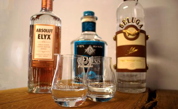 Das passende Nosing-Glas zum Wodka trinken