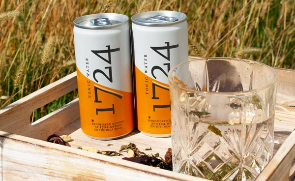 Gin Tonic mit 1724 Tonic Water