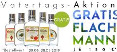 Gratis Flachmann zusätzlich pro 150 € Bestellwert - Vatertagsatktion nur bis zum 28.5.2018 - jetzt zugreifen und doppelt profitieren!